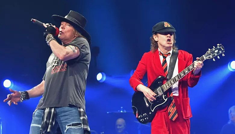 Guns N Roses Tour Manager Instagram Post Fuels Axl RoseACDC Speculation  iHeartRadio