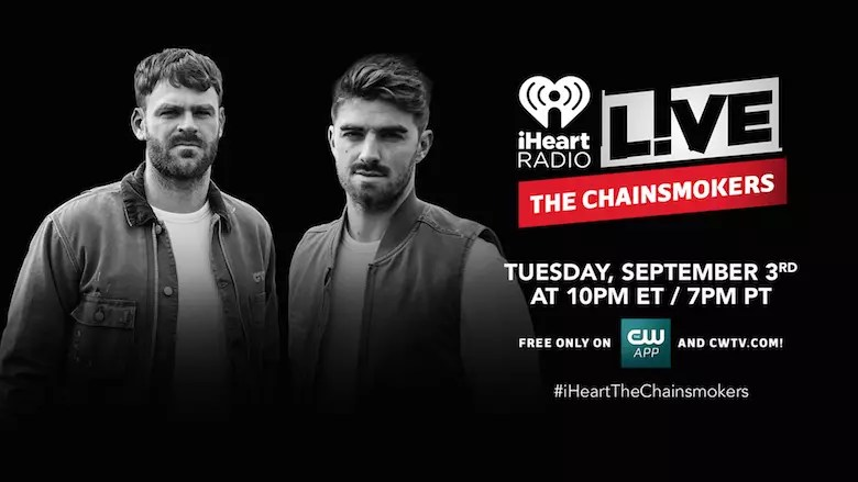 the chainsmokers to play
