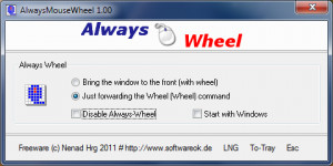 AlwaysMouseWhee náhled pro download