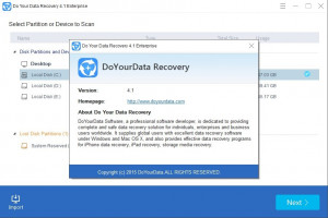 DoYourData Recovery Free náhled pro download