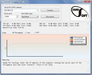 TamoSoft Throughput Test náhled pro download