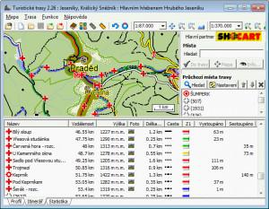 Turistické trasy náhled pro download