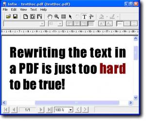 Infix PDF Editor náhled pro download