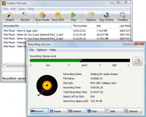 Golden Records Vinyl to CD Converter náhled pro download
