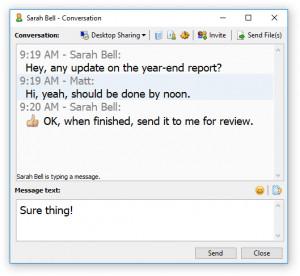 Softros LAN Messenger náhled pro download