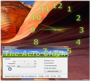 TheAeroClock náhled pro download