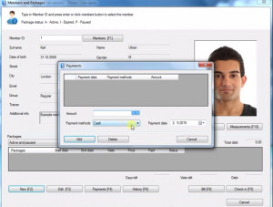 Fitness manager náhled pro download