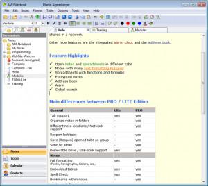 AM Notebook Lite náhled pro download