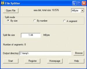 File Splitter náhled pro download
