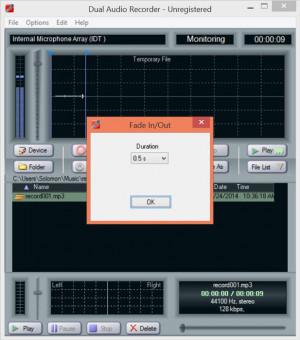 s dual audio recorder