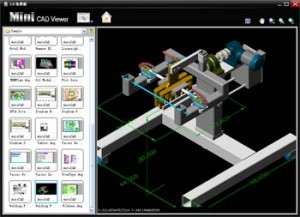 Mini CAD Viewer náhled pro download