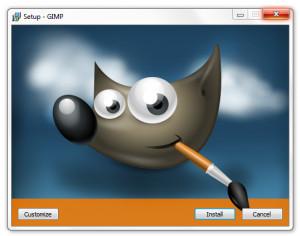 Gimp náhled pro download