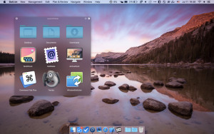 LaunchPanel náhled pro download
