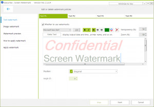 Screen Watermark náhled pro download