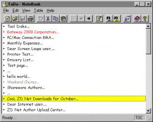 NoteBook 2000 náhled pro download