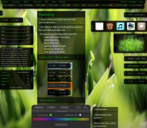 Rainmeter náhled pro download