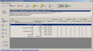 Bandwidth Management and Firewall Lite náhled pro download