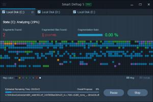 Smart Defrag náhled pro download