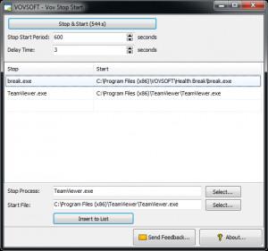 Vov Stop Start náhled pro download