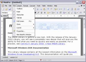NotePro náhled pro download