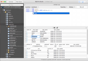 SQLPro Studio náhled pro download