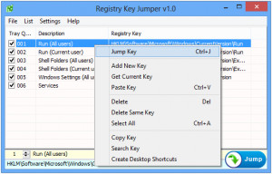 Registry Key Jumper náhled pro download