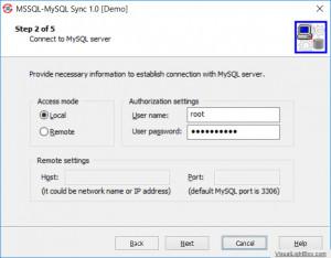 MSSQL MySQL Sync náhled pro download