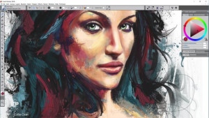 Corel Painter OS náhled pro download
