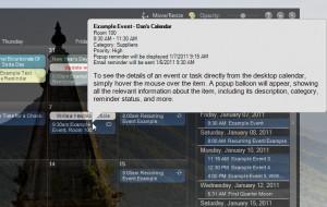VueMinder Calendar Lite náhled pro download
