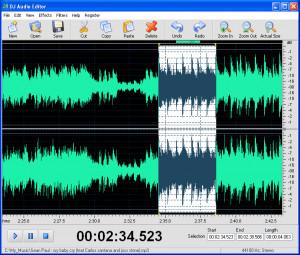 DJ Audio Editor náhled pro download
