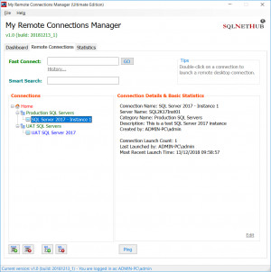 My Remote Connections Manager náhled pro download