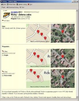 GeoGet náhled pro download