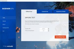Basemark GPU náhled pro download