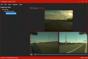 TeslaCam Viewer náhled pro download
