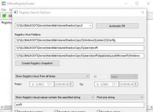 OfflineRegistryFinder náhled pro download