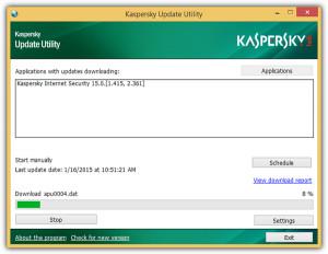 Kaspersky Update Utility náhled pro download