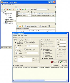 Clipboard Help+Spell náhled pro download