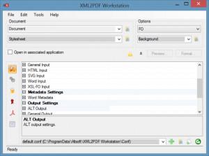 XML2PDF Workstation náhled pro download