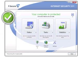 F Secure Internet Security náhled pro download
