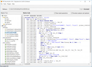 VB Decompiler náhled pro download