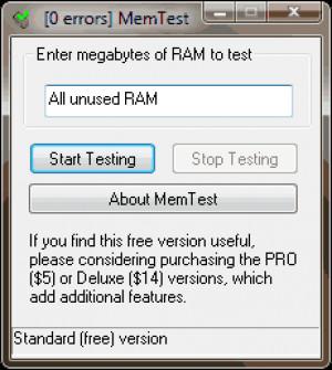 MemTest náhled pro download