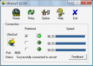 UltraSurf náhled pro download