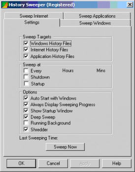 History Sweeper náhled pro download