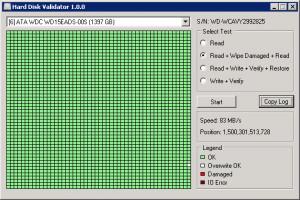 Hard Disk Validator náhled pro download