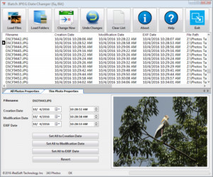 Batch JPEG Date Changer náhled pro download