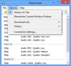 MassTube náhled pro download