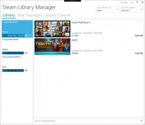Steam Library Manager náhled pro download