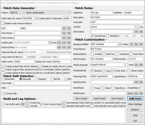 Inno Setup XDELTA Patch Maker náhled pro download