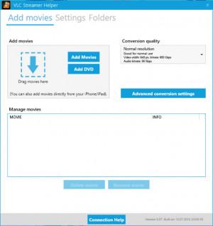 VLC Streamer Helper náhled pro download