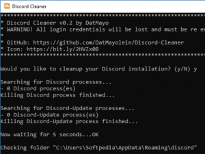 Discord Cleaner náhled pro download